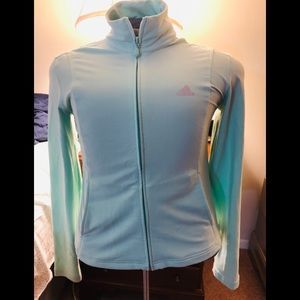 Adidas sweater with zipper for women size M